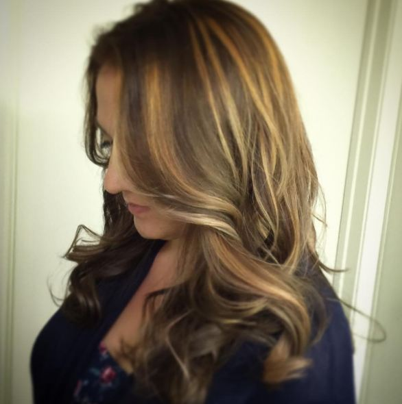 Layered Long Brown Hair Colors For Women 2016-2017