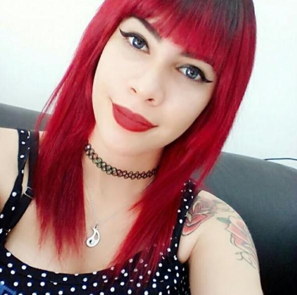 Straight Red long hair colors for women winter 2016-2017
