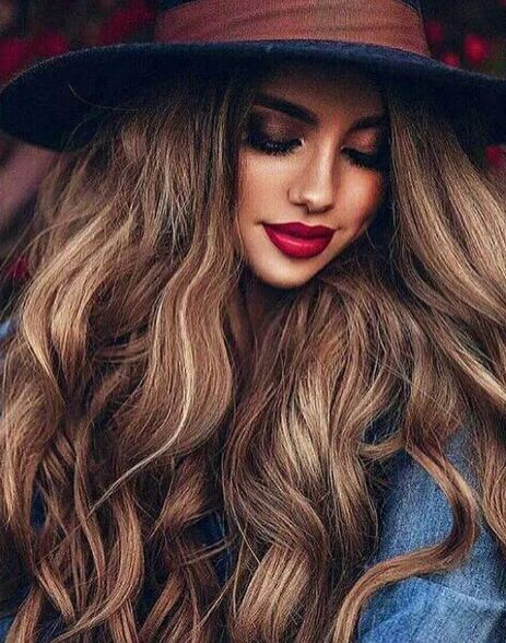 Brown Hair Colors Layered For Women 2016-2017