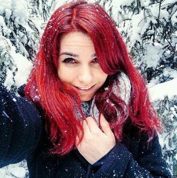 Straight red long hair colors for 2017 winter